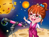 Baby Hazel As Astronomer