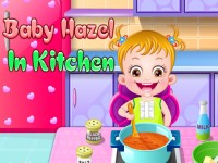 Baby Hazel In Kitchen